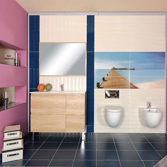 Ambiente cer mico venta de azulejos pavimentos cocinas for Ducha ya pamplona